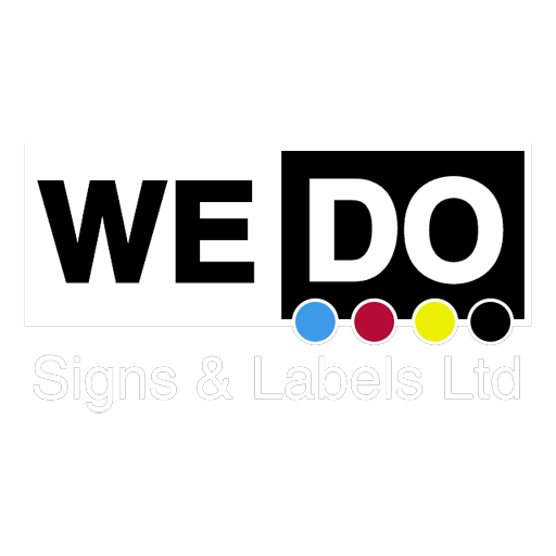 We Do Signs and Labels