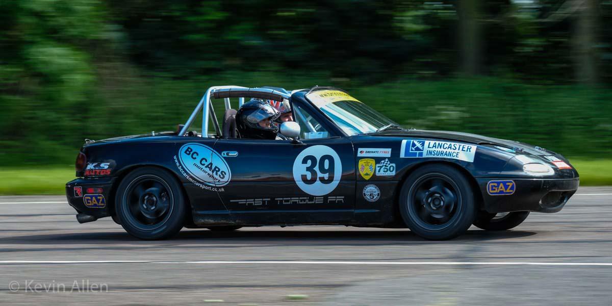 Brian giving passenger laps at Bruntingthorpe