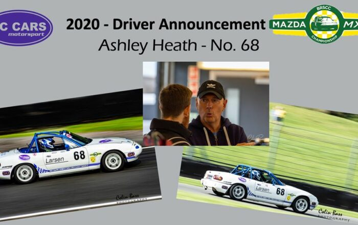 Driver Profile - Ashley Heath