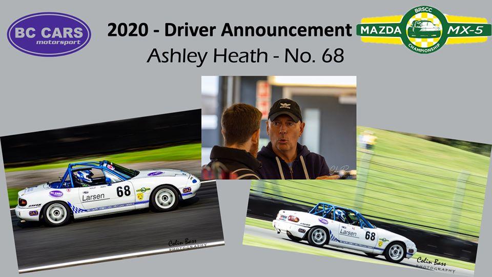Driver Profile - Ashley Heath