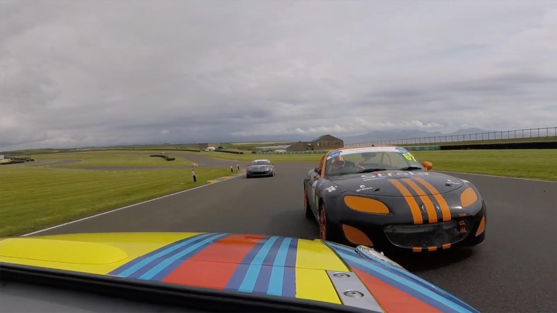 Racing again, Anglesey