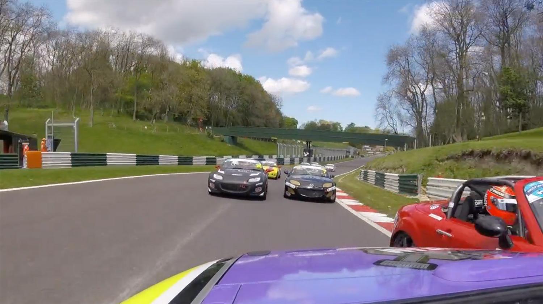 Racing again, Cadwell Park